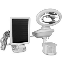 Solar Powered LED Security Spotlight