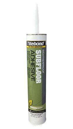 GREENchoice™ Panel & Subfloor Adhesive
