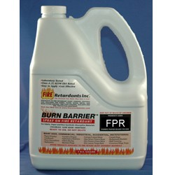Burn Barrier™ FPR Penetrating Treatment for Natural Fabric and Paper